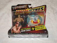 Mattel WWE Flex Force Smash Scenes Fist Poundin' John Cena Breakable Spotlight