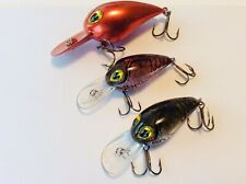 3 Discontinued Cordell Wiggle O Lures- New/Unused
