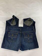 Calvin Klein  Size 19-29 Women's Flap Pocket Lean Bootcut Stretch Blue