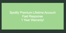 *SELLING FAST ONLY 3 LEFT* Spotify Account Fast Support 1 Year Warranty!