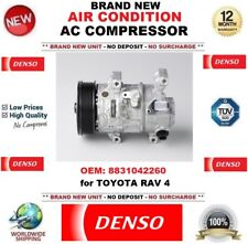 DENSO AIR CONDITIONING AC COMPRESSOR OEM: 8831042260 for TOYOTA RAV 4 BRAND NEW