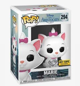 Funko Pop Disney Diamond Collection The Aristocats Marie Hot Topic Exclusive