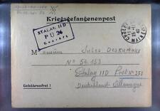 Camp Stalag IID Stargard 1940 POW Prisoner of War Kriegsgefangenenpost L26a
