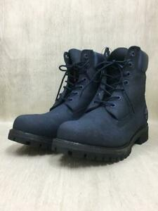Timberland Lace-Up 25.5cm Leather Tb0A1Jsc 6 Inch Premium  Navy 25.5cm Boots