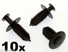 10x Plastic Push Fit Rivets- Mercedes Wheel Arch / Fender Liner Fastener Clips