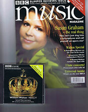 SUSAN GRAHAM / WILLIAM WALTON 	BBC Music Magazine + CD	 	 	March	2002
