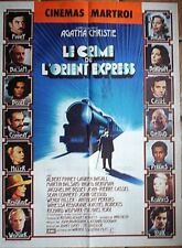 Affiche CRIME ORIENT EXPRESS (Connery / Bacall) 80x60cm
