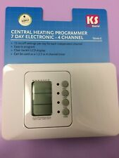 GREENBROOK KINGSHIELD T634A-C 7 DAY 4 CHANNEL HEATING PROGRAMMER