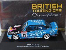 BMW M3 (E30) Groupe A (seront Hoy) VL Motorsport 1991 BTCC Champion.