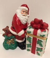 Party lite Jolly Santa Voltive Holder. P7251..