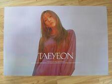 TAEYEON - PURPOSE (TYPE B) [ORIGINAL POSTER] K-POP *NEW* SNSD