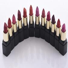Lots 12pcs Charming Lasting Matte Lipstick Lip Gloss Cream Makeup Pencil Set