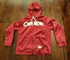 Vancouver 2010 Olympics Canada Hoodie Sweater Hudson's Bay Company Men's Large