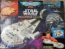 Galoob Micro Machines # 65878 Star Wars MILLENNIUM FALCON Playset in Box