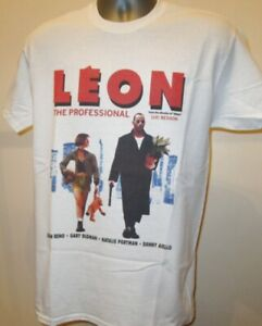 Leon The Professional Film T Shirt Killer Nikita Fifth Element Reno Portman V290