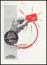 Publicité Lame de Rasoir GIBBS  Barbier barber razor vintage print ad 1939 -5h