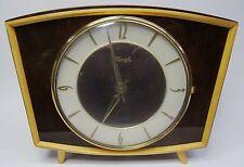 vintage mantle clock - Rockabilly elektromechanische Kienzle Tischuhr Uhr ~50er