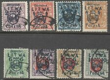 Central (Middle) Lithuania 1920 Mi 4-11 Used/MLH(1)