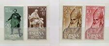 4 sellos de RIO MUNI. Dependencia postal de ESPAÑA. año 1960