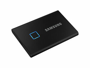 NEW Samsung Portable SSD T7 Touch 2TB BLACK External USB 3.2 Solid State Drive