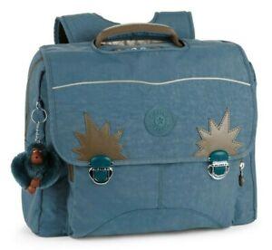 Kipling INIKO School Bag Backpack - Blue Jean C