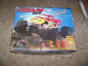 ofna twin titan deluxe box pirate kyosho tamiya supermaxx rc monster truck parts