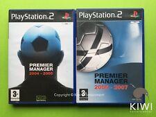 Premier Manager 2004 2005 2006 2007 Playstation 2 PS2PAL Games Bundle