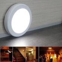 6LED Wireless PIR Auto Motion Sensor Infrared Night Light Cabinet Stair Lamp UK