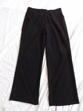 (AG146) Size 10 Eu38 *MONSOON* Smart black office trousers ladies/womens