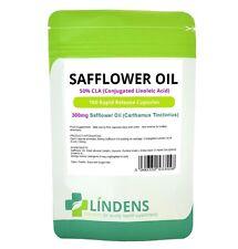 Lindens Olio di cartamo 50% CLA 300mg 100 capsule Acido Linoleico Coniugato