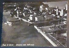 BRESCIA - SIRMIONE - IMBARCADERO DALL'AEREO - 1955