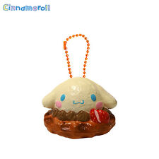 Authentic Sanrio Licensed Cinnamoroll Sweets Waffle Squishy Chocolate Version