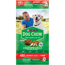 Purina Dog Chow Dry Dog Food Complete With Real Chicken 46 lb. Bag - Free Ship