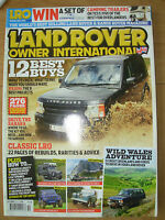 LAND ROVER INTERNATIONAL MAGAZINE OCTOBER 2010 CLASSIC LRO REBUILDS & ADVICE