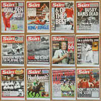 Misc - The Sun Newspaper Famous Event Headlines Single Pictures - Various