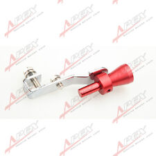 Universal Turbo Sound Exhaust Whistle/Fake Blow Off BOV Simulator Red S A