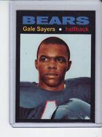 Gale Sayers '66 Chicago Bears rookie season MC Glory Days #1