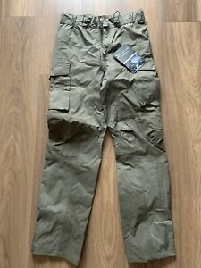 Carinthia Army Issue Olive TRG gore-tex trousers sz L New