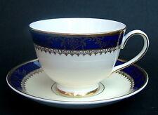 Vintage 1980's Royal Grafton Viceroy Pattern Tea Cups & Saucers - Look in VGC