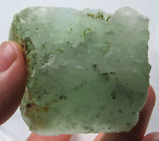 348.7Ct Natural Brazilian Green Opal Facet Rough Specimen YOA158