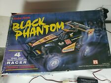 Radio Shack Black Phantom RC with original box and Controller - Tested works