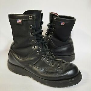 """Danner Acadia Black 8"""" 200G Insulated Boots Men's 8.5 B Leather Waterproof 69210"""