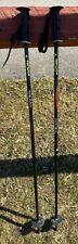 """TECNO PRO JR ski poles, 95cm, 38"""" black, used"""