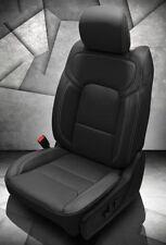 2019 Ram 1500 Big Horn / Lone Star Black Katzkin Leather Seat Replacement Covers