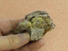 Mineral Specimen Of Ferrimolybdite From Lemhi Co., Idaho