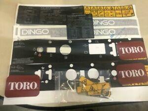 Decal Kit for Toro Dingo 427 and Toro Dingo 525