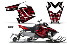 Sled Decal Wrap Polaris Pro RMK Rush Snowmobile Graphics Kit 2011-2014 HAVOC RED