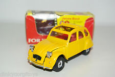 CORGI TOYS CITROEN 2CV JAMES BOND YELLOW MINT BOXED RARE SELTEN RARO