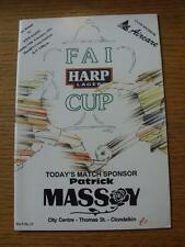 14/02/1993 St Patricks Athletic v Finn Harps [Republic Of Ireland Cup] (No appar