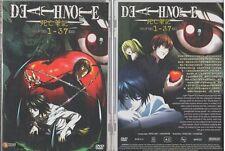 DVD Death Note 死亡笔记 Chapter 1 - 37 End (English Dub & Sub) Free Postage